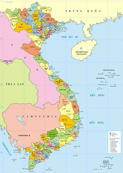 Vietnam map sciox Image collections
